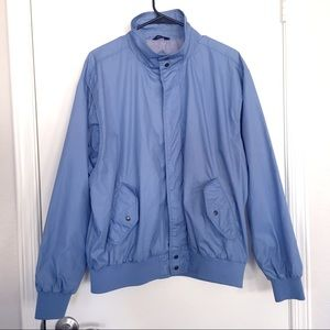Vtg Ozark Trail Blue Lightweight Jacket sz XL